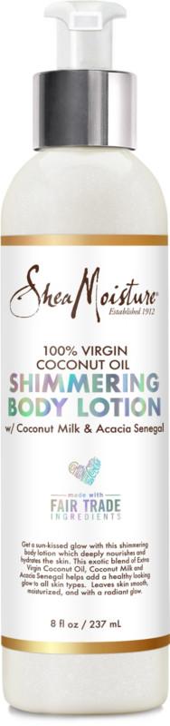 Ulta Beauty - SheaMoisture 100% Virgin Coconut Oil Shimmering Body Lotion | Ulta Beauty