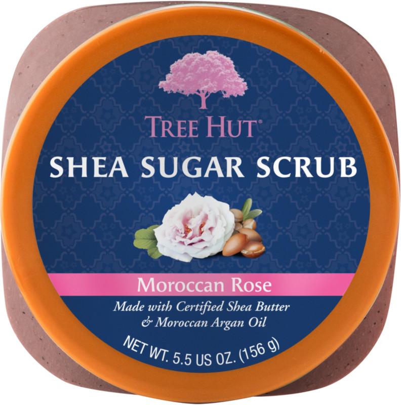 Tree Hut - Travel Size Moroccan Rose Shea Sugar Scrub