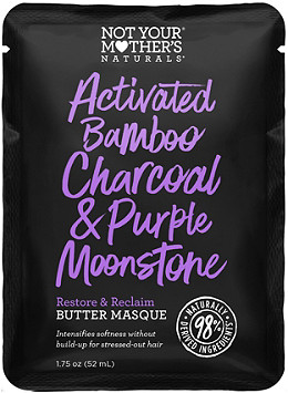 Not Your Mother's - Not Your Mother's Activated Bamboo Charcoal & Purple Moonstone Restore & Reclaim Butter Masque