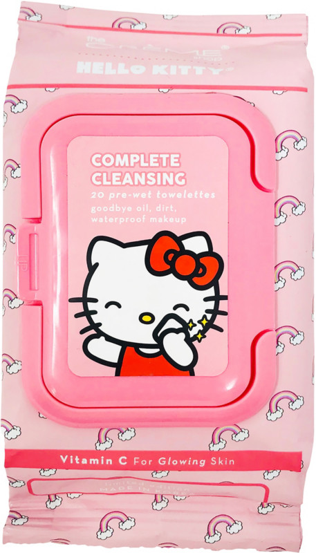 The Creme Shop - Hello Kitty Complete Cleansing Vitamin C Towelettes