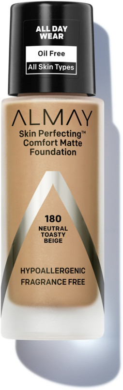 Almay - ALMAY Almay skin perfecting comfort matte foundation 1 Fluid Ounce