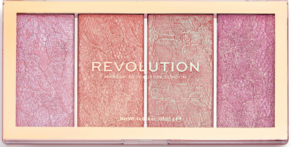 Makeup Revolution - Vintage Lace Blush Palette