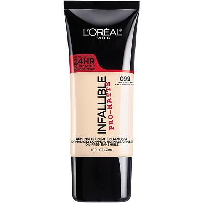 L'Oreal Paris - Infallible Pro-Matte Liquid Longwear Foundation