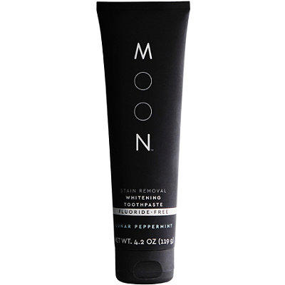 Moon - Stain Removal Whitening Toothpaste Fluoride Free Lunar Peppermint Flavor