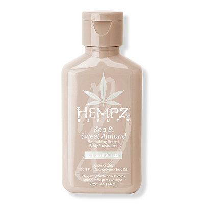 Hempz - Travel Size Koa & Sweet Almond Soothing Herbal Body Moisturizer