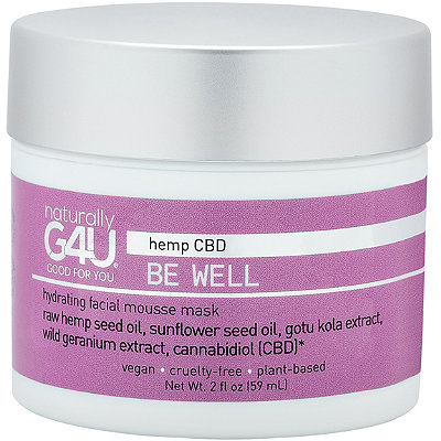 Naturally G4U - Be Well CBD Hydrating Facial Mousse Mask
