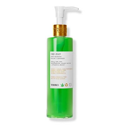 Truly - CBD Jelly Anti Blemish Facial Cleanser