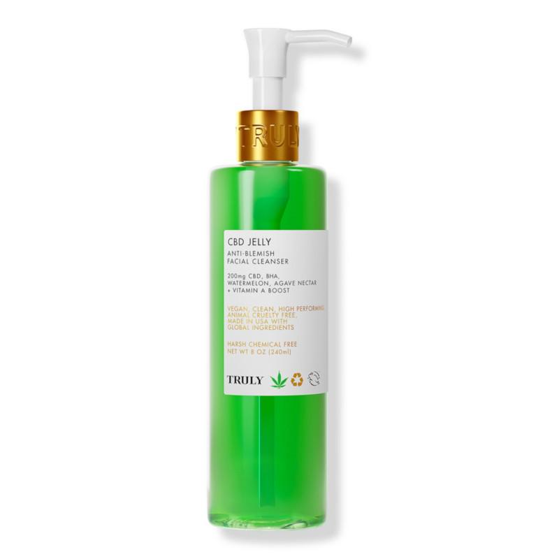 Ulta Beauty - Truly CBD Jelly Anti Acne Facial Cleanser   Ulta Beauty