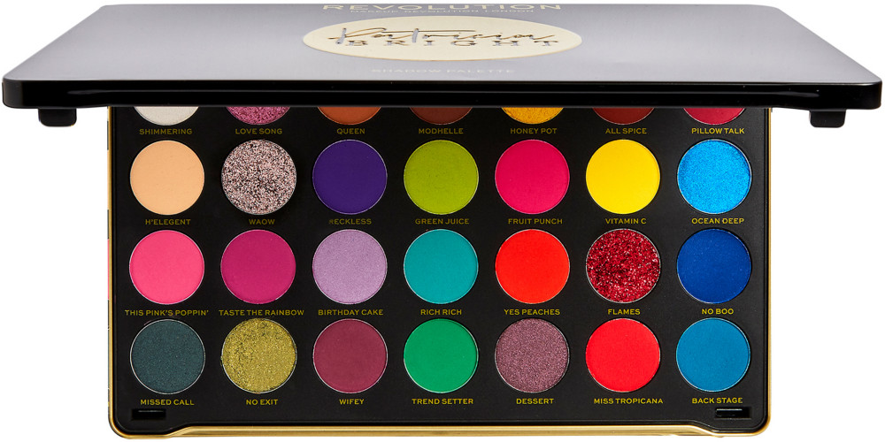Makeup Revolution - Revolution X Patricia Bright Rich In Color Shadow Palette