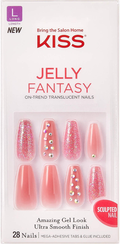 Kiss - Be Jelly Gel Fantasy Nails