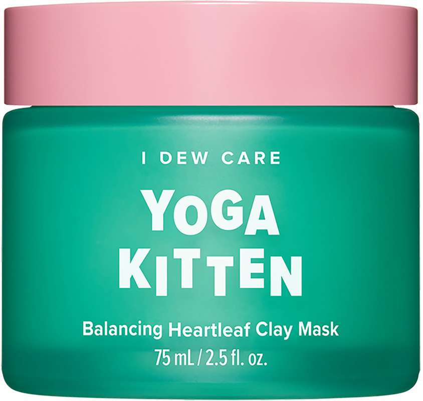 Ulta Beauty - I Dew Care Yoga Kitten Balancing Heartleaf Clay Mask