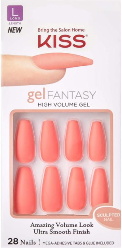 Ulta Beauty - Kiss Back It Up Sculpted Gel Fantasy Nails