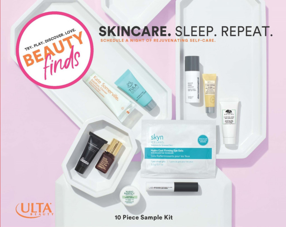 Ulta Beauty - Beauty Finds by ULTA Beauty Love Your Skin Skincare. Sleep. Repeat.
