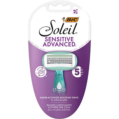 Bic - Soleil Sensitive Advanced Disposable Razors