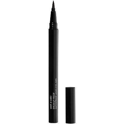 Wet N' Wild - Mega Last Breakup-Proof Black Liquid Eyeliner