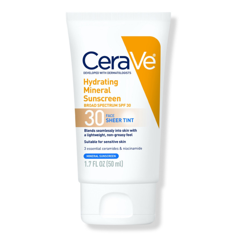 Cerave - Face Sheer Tint Hydrating Sunscreen SPF 30