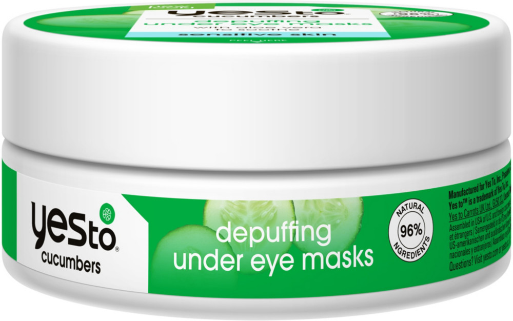 Yes to Cucumbers - Depuffing Under Eye Masks