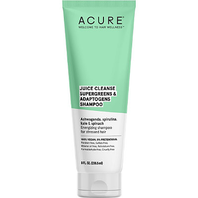 Acure - Juice Cleanse Supergreens & Adaptogens Shampoo