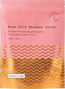 Frank Body - Rose Gold Shimmer Scrub