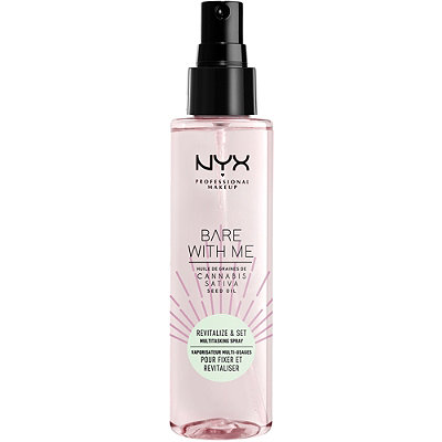 NYX - Bare With Me Cannabis Sativa Multitasking Primer & Setting Spray