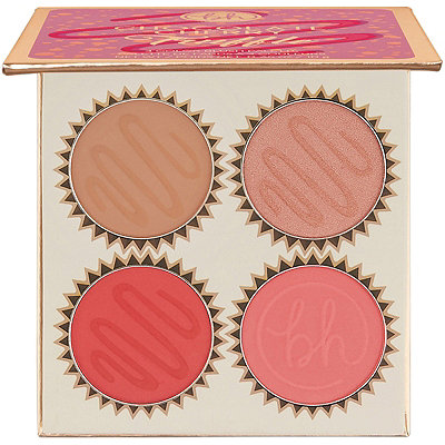 BH Cosmetics - Chocolate Cherry Truffle - 4 Color Blush Palette