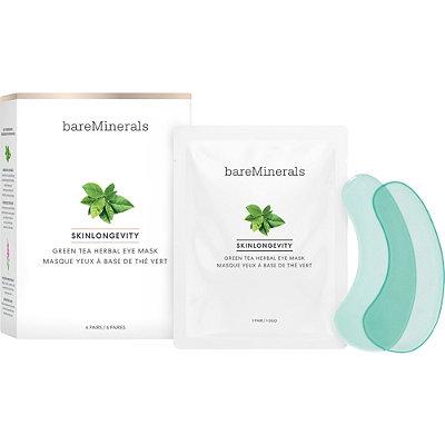 Bareminerals - SKINLONGEVITY Green Tea Herbal Eye Mask