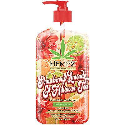 Hempz - Limited Edition Strawberry Limeade & Hibiscus Tea Herbal Body Moisturizer