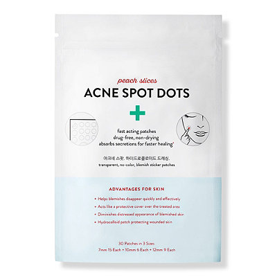 Peach Slices - Acne Spot Dots