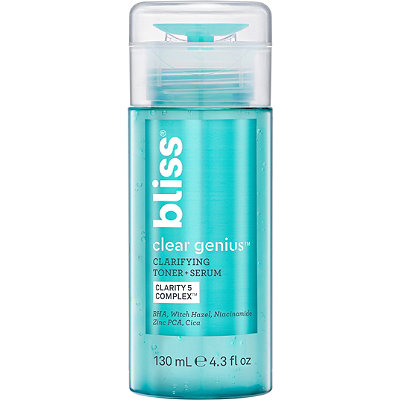 Bliss - Clear Genius™ Clarifying Toner + Serum