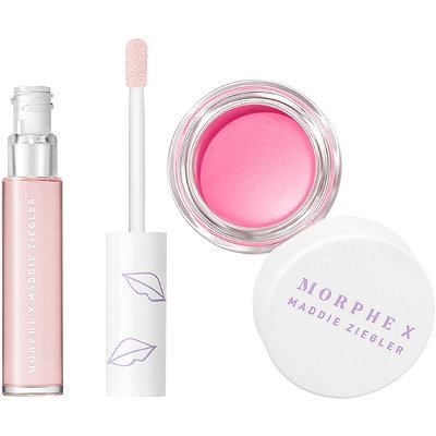 Morphe Morphe X Maddie Ziegler Pink About It Lip & Cheek Duo