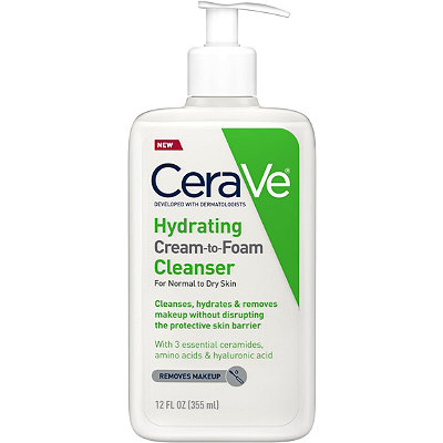 Cerave - Hydrating Cream-to-Foam Cleanser