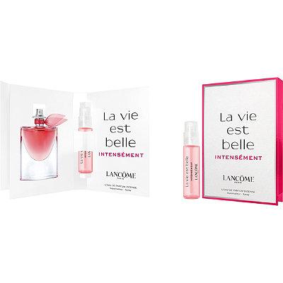 Lancome - Free La Vie Est Belle Intensément Intense Eau de Parfum sample with women's fragrance purchase