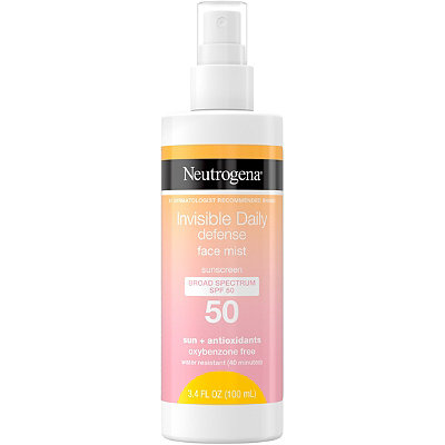 Neutrogena - Invisible Daily Defense Face Mist SPF 50