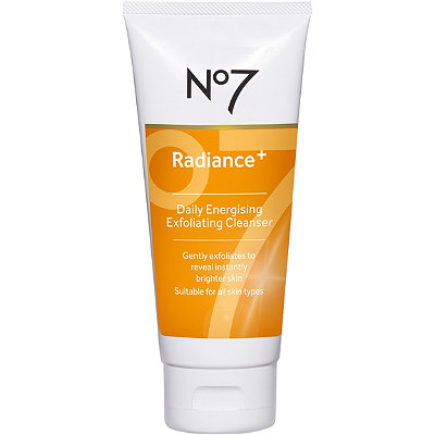No7 Radiance+ Daily Energizing Exfoliating Cleanser