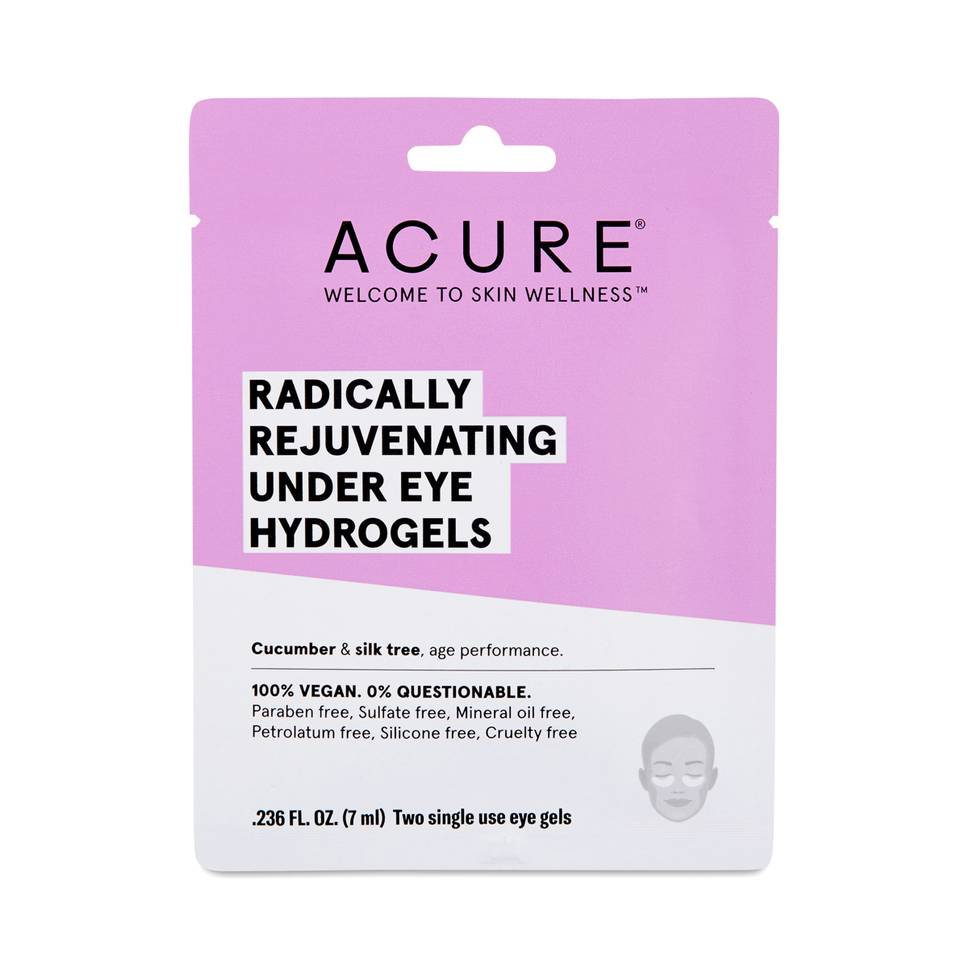 Acure - ACURE Radically Rejuvenating Under Eye Hydrogel Mask