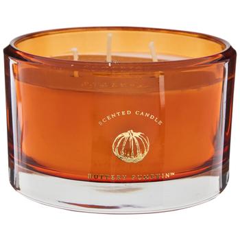 hobbylobby - Buttery Pumpkin Orange Jar Candle