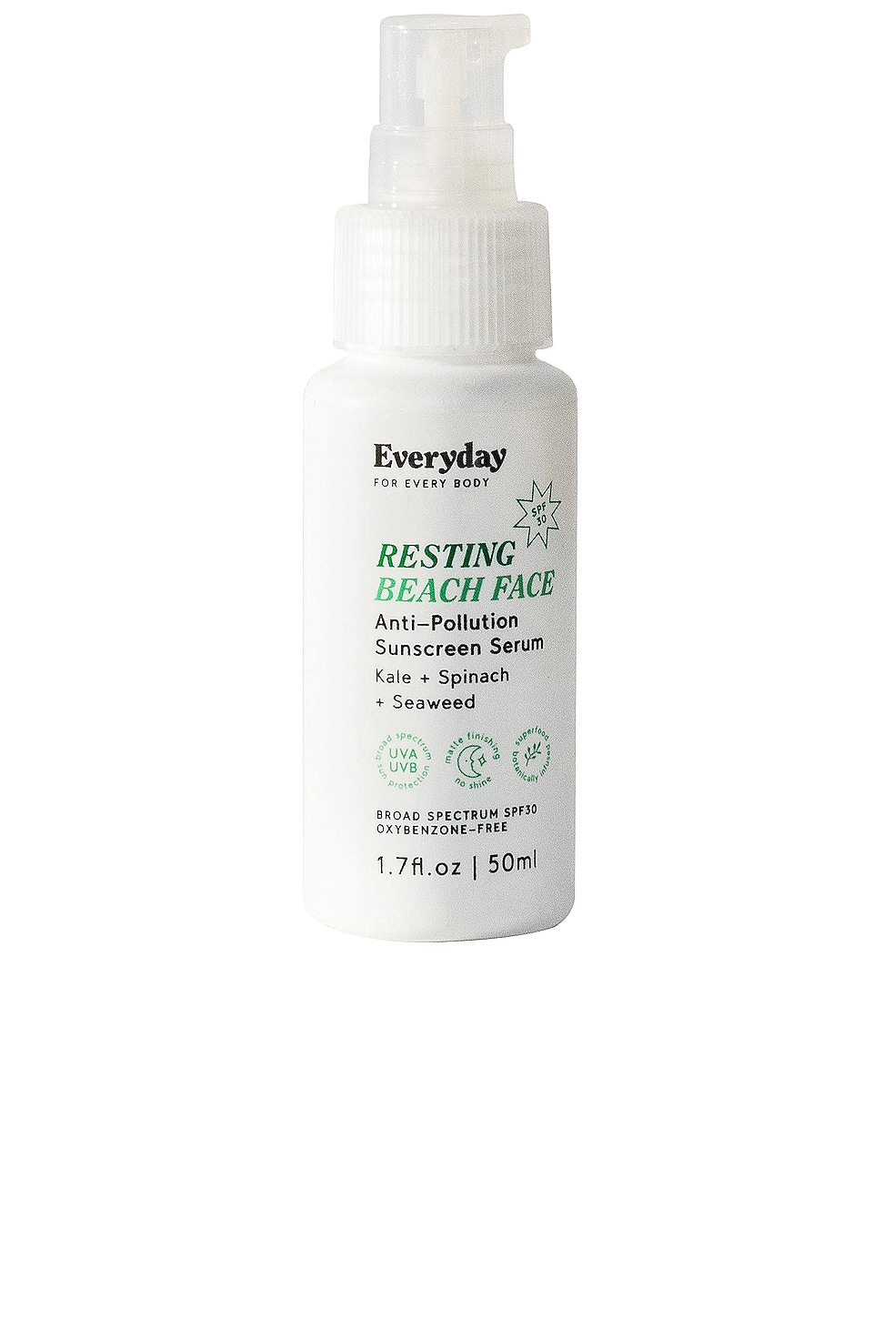 Everyday - Resting Beach Face SPF30 Anti-Pollution Sunscreen Serum