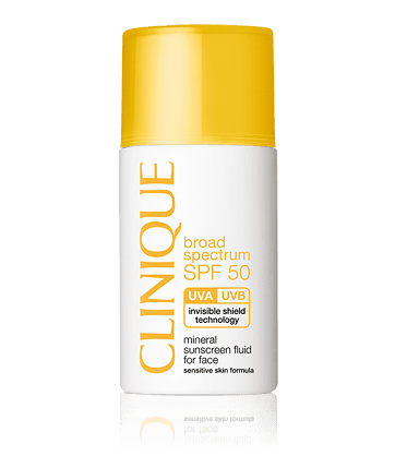 Clinique - SPF 50 Mineral Sunscreen Fluid
