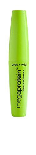 Wet N' Wild - wet n wild Megaprotein Waterproof Mascara, Very Black, 0.27 Fluid Ounce