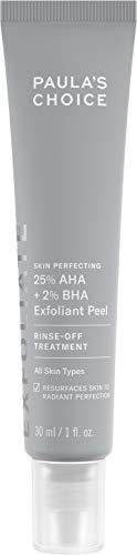 Paula'S Choice - Paula's Choice Skin Perfecting 25% AHA + 2% BHA Exfoliant Peel, Fragrance-Free & Paraben-Free, 1 Oz