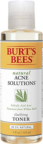 Burts Bees - Acne Solutions Clarifying Toner, Face Toner for Oily Skin