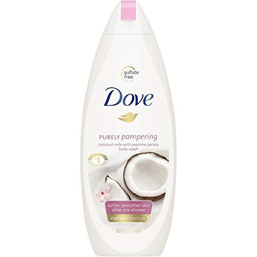 Dove - Dove Purely Pampering Body Wash, Coconut Milk With Jasmine Petals, 22 oz (Pack of 6)