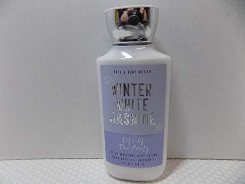 Bath & Body Works - Bath and Body Works Life of the Party Winter White Jasmine Body Lotion 8 oz