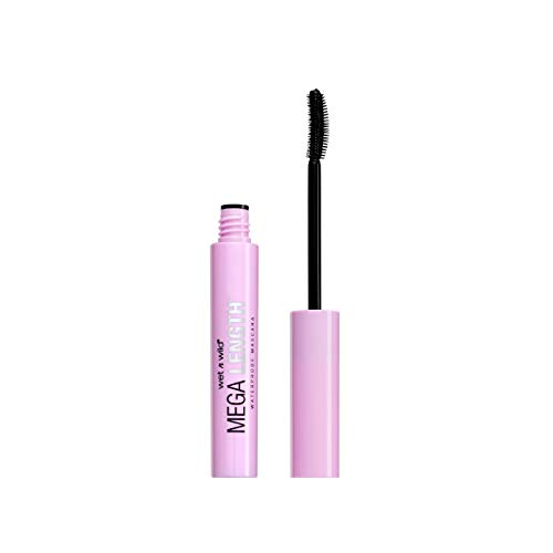 Wet N' Wild - Wet N Wild Mega Length Waterproof Mascara, Very Black, 0.21 Ounce