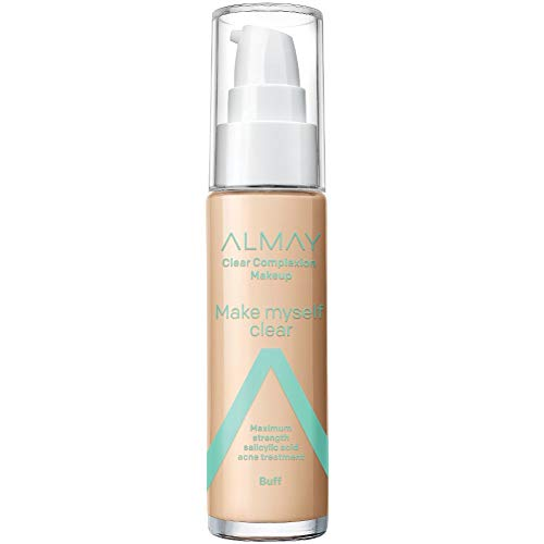 Almay - Almay Clear Complexion Makeup, Hypoallergenic, Cruelty Free, Fragrance Free, Dermatologist Tested Foundation, with Salicylic Acid, 1oz