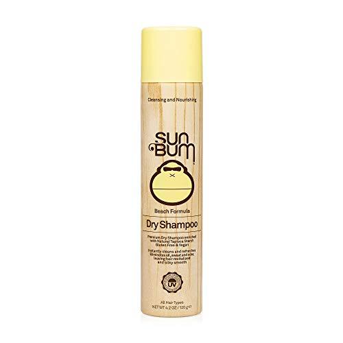 Sun Bum - Sun Bum Revitalizing Dry Shampoo, Hair Refresher, Texturing and Volumizing Spray, Paraben Free, Oil Free, Gluten Free, Vegan, 4.2 oz Bottle, 1 Count