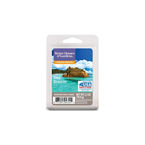 Better Homes & Gardens Better Homes and Gardens Caribbean Sea Breeze Wax Cubes