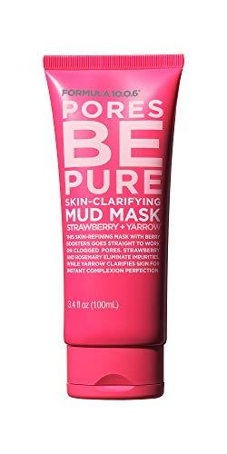 Formula 10.0.6 - Formula 10.0.6 - Pores be Pure Skin-Clarifying Mud Mask - 3.4 oz.
