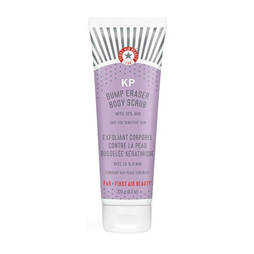 First Aid Beauty First Aid Beauty KP Bump Eraser Body Scrub Exfoliant for Keratosis Pilaris with 10% AHA