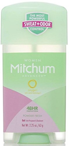 Mitchum Mitchum For Women Power Gel Anti-Perspirant Deodorant Powder Fresh 2.25 oz (Pack of 9)